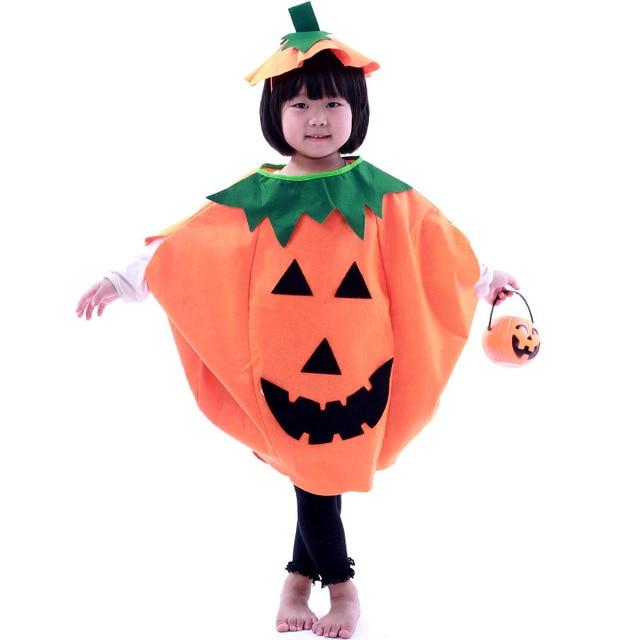 Halloween Child Masquerade Costume Children pumpkin set costumes for kids Halloween costume  sc 1 st  AliExpress.com & Halloween Child Masquerade Costume Children pumpkin set costumes for ...