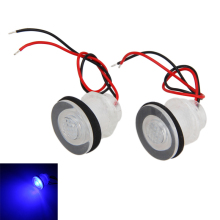 1 Pair Boat Marine RV Waterproof 12V LED Courtesy Light For Boats Stair Livewells