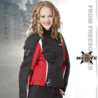 Germany NERVE women motorcycle jackets motocross waterproof racing jacket with removable liner female jacket