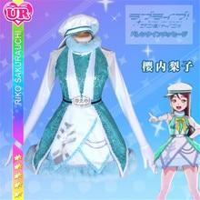 Lovelive Sunshine Aqours New Sakurauchi Riko Dress Christmas Eve Sacred Snow Collaboration Awaken the power All Member