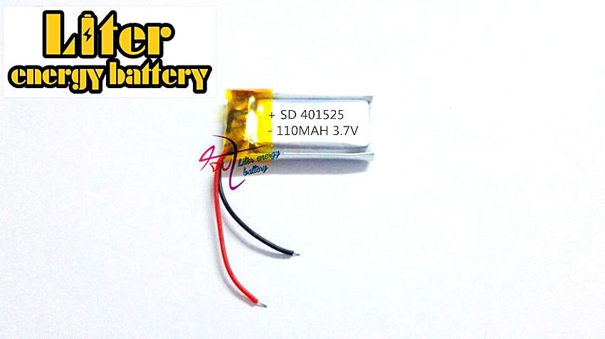 Bluetooth Kopfhörer Mp3 Lautsprecher Spielzeug Modestil 3,7 V 110 Mah 401525 381525 Plib; Polymer Lithium-ion/li-ion Batterie Für Smart Uhr