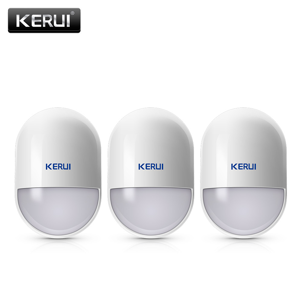 KERUI 433 MHz Motion Detector With Low Power Reminder Function Work For Home Alarm Security System W18 G18 G19 Burglar Alarm