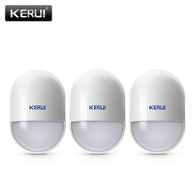 KERUI P829 czujnik ruchu PIR 433 MHz bezprzewodowe bezpieczeństwo w domu Buglar Alarm czujnik podczerwieni praca z KERUI K52 W18 System alarmowy