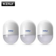 P829 KERUI PIR Detector De Movimento 433 MHz de Segurança Sem Fio Em Casa Alarme Buglar Alarme Sensor de Trabalho Com KERUI K52 W18 Infrated sistema