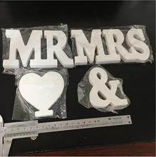 32 Styles Home Decor Decoration Thick Wooden White Letters Alphabet Wedding Birthday 8cm Hot Sale AliExpress Standard Shipping