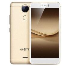 Original MTK6753 Geotel AMIGO 4G Smartphone de 5.2 Pulgadas Android 7.0 Octa Core 1.3 GHz Móvil 3 GB + 32 GB 13.0MP Cámara Trasera OTA Teléfono