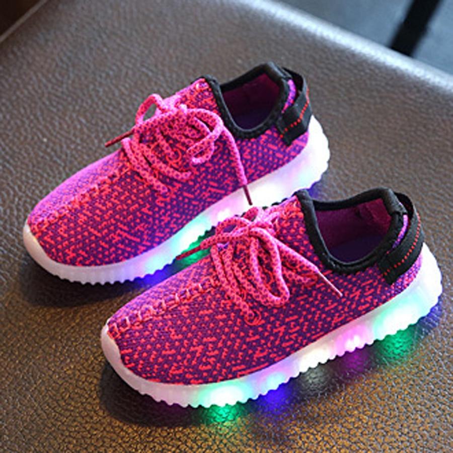 Led Luminous Shoes For Boys Girls Fashion Light Up Kids ...
