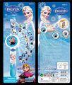 Moda frozen elsa anna olaf toys historieta 20 reloj de proyección led proyector digital relojes de marca regalo de los niños