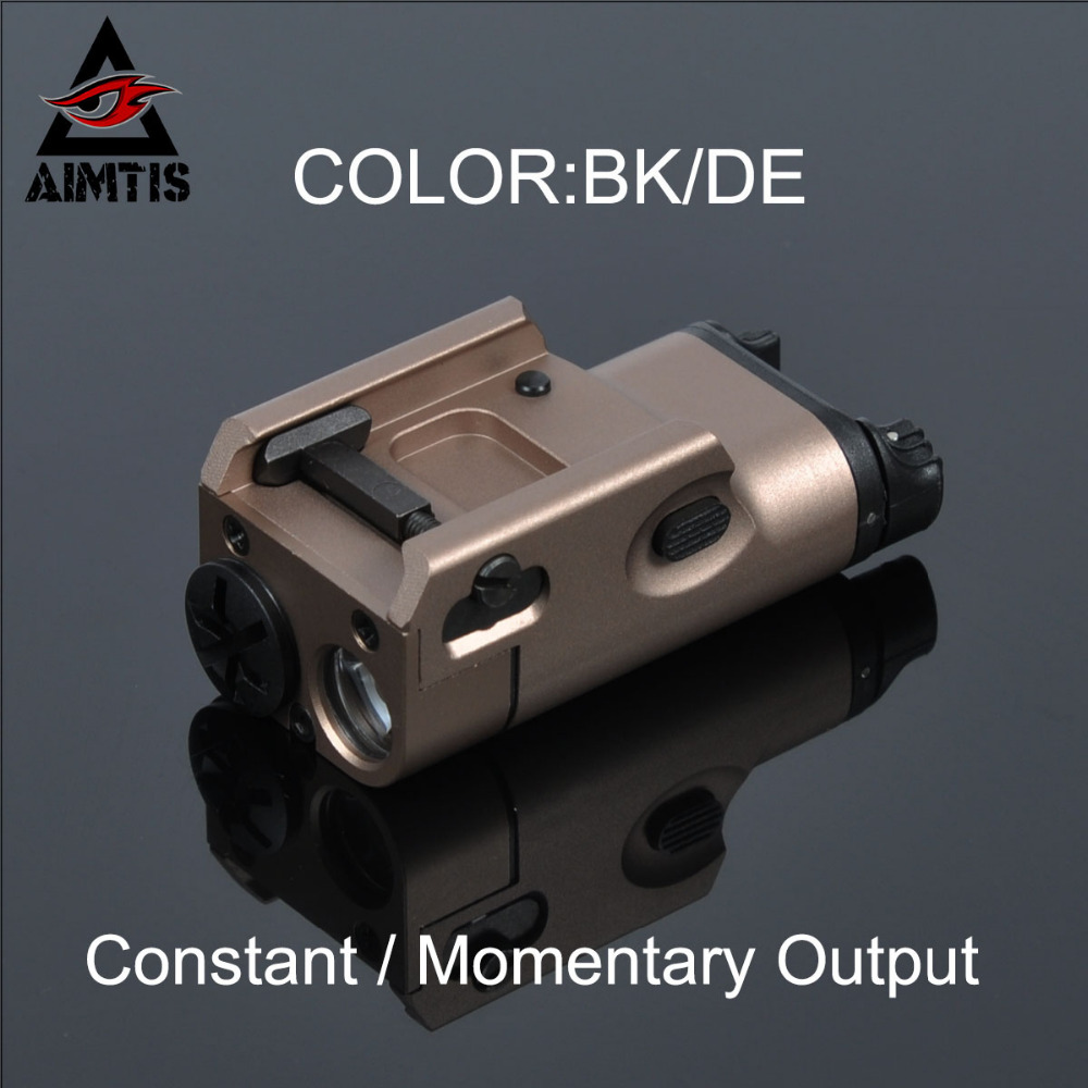 AIMTIS SF Tactical XC1 Light Pistol Mini Hunting LED Flashlight Airsoft Military Weapon Lights Shockproof Hunting Lanterna Shot