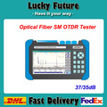 Digtial Optical Fiber SM OTDR Tester  1310/1550nm 37/35dB With  Visual Fault Locator (VFL) FTTx Cable Tester