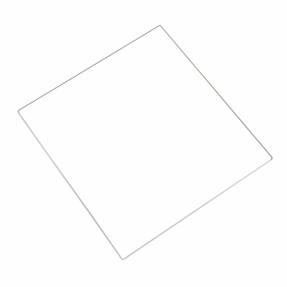 165x165x3 mm Borosilicate Glass Plate/Bed w/Flat Polished Edge for Creality <font><b>Ender</b></font> <font><b>2</b></font> <font><b>3D</b></font> Printer ( 165x165x3mm Square ) image