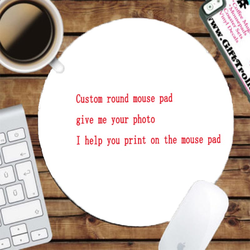 Yuzuoan Funny Eyelashes Customize Small Round Art Mouse pad game gamer  gaming keyboard mat computer tablet Mat 200*200*2mm-in Mouse Pads from  Computer
