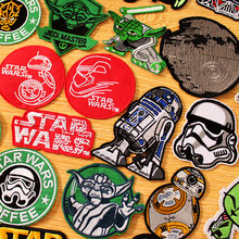 Star Wars Patch Iron on Patches On Clothes Stripes DIY Hook Loop Embroidered For Clothing Tactical Military Badges