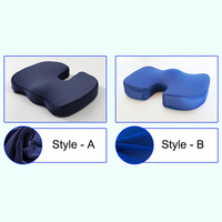 Memory Foam Gel Seat Cushion Non Slip Back Pain Sciatica Relief Chair Cushions for Home Office Car UYT Shop