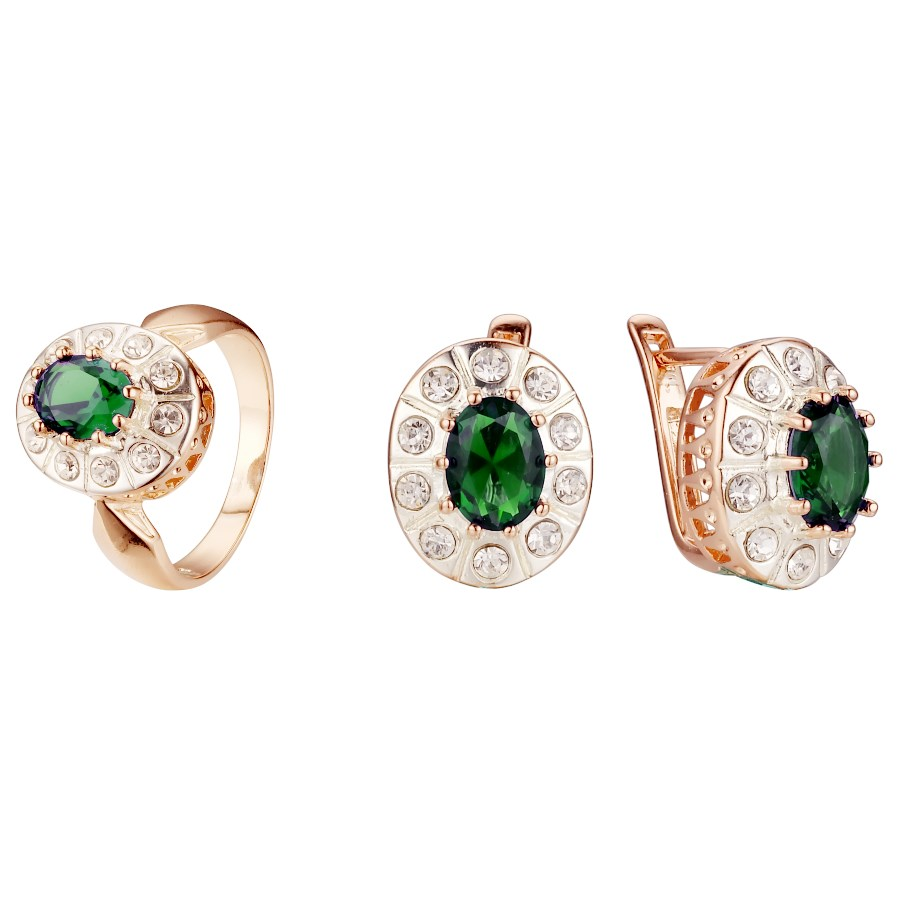 Green ring size 7
