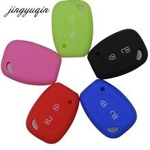 Jingyuqin coque en Silicone pour clé de voiture, pour Renault Vivaro, Movano, Master Kangoo trafic, Nissan et Opel