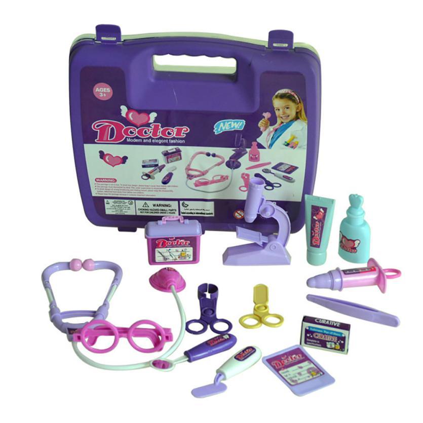Childrens Kids Role Play Doctor Nurses Toy Set Medical Kit Christmas Gift Z818