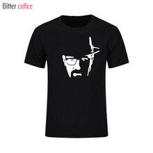 Новая летняя футболка для мужчин Breaking Bad Heisenberg мужские футболки с принтом для мужчин Walter White Cook футболки топы с портретом Гейзенберга и футболки XS XXL