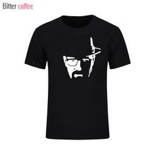 New Summer T Shirt Men Breaking Bad Heisenberg Printed Tshirt Men Walter White Cook T shirt Heisenberg Tops & Tees XS XXL