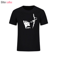 Yeni yaz T gömlek erkekler Breaking Bad Heisenberg baskılı Tshirt erkekler Walter beyaz aşçı T shirt Heisenberg Tops & Tees XS XXL