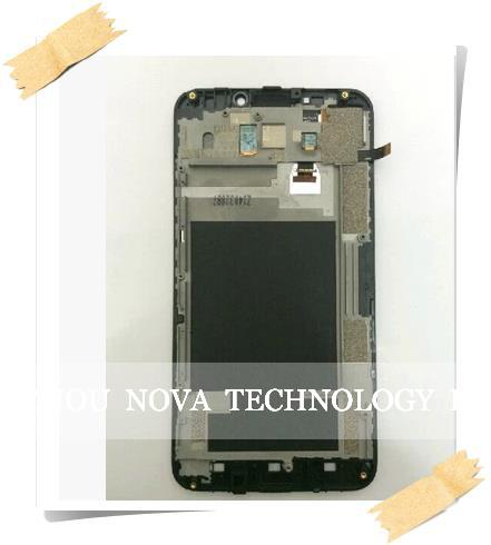 ФОТО 100%   Replacement LCD Display Touch Screen Digitizer + Frame Assembly For ZTE Grand S2 S 2 SII S291; HK free