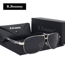 R.Bsunny 2017 new Men Classic Brand Sunglasses HD Polarized alloy Driving Fashion Classic Sun glasses Luxury Shades UV400 R7410