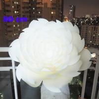 65 80CM DIY Artificial Flowers Fleurs Artificielles Backdrop Glitter Giant Paper Flowers Wedding Party Decor Baby Shower Nursery
