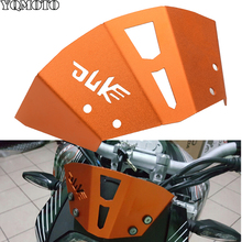 Motorcycle Aluminum accessories Motorbike Windshield Windscreen Orange Windshield Windscreen For KTM Duke 125 200 390 цена в Москве и Питере