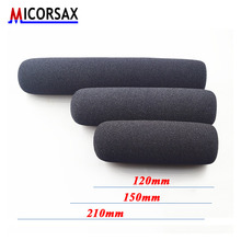 Sell Well 2pcs/set Professional Camera Interview Microphone Windshield Cover Thicken High-density Sponge Windproof Dustproof Cap