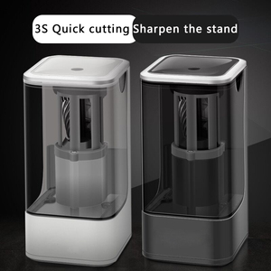 Image 3 - Childrens Automatic Electric Pencil Sharpener Creative Pencil Sharpener For Home School Office Desktop Stationery Items