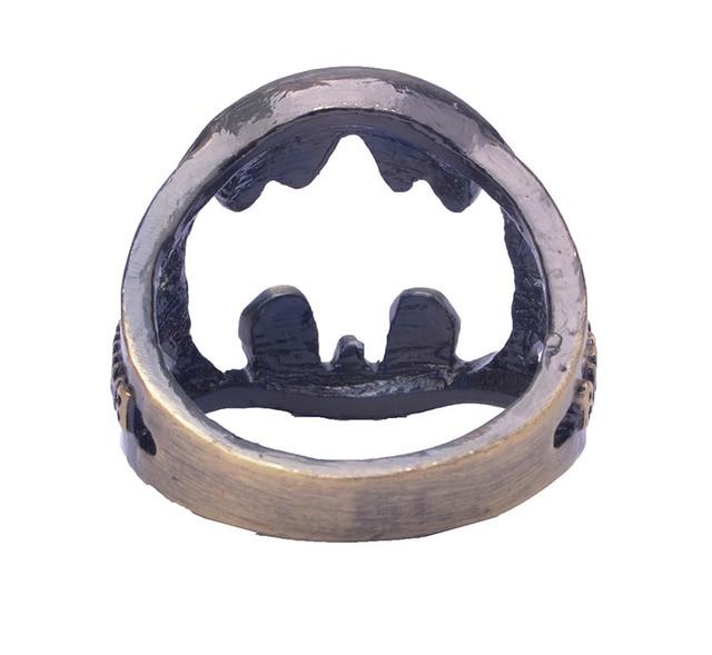 Кольцо с логотипом Бэтмен 18 мм 2