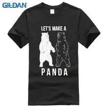 2017 New Sleeves Fashion Short Sleeve Top Crew Neck Mens Great  Let Make A Panda Bear Clown Bundy Dahmer Lsd T Shirt