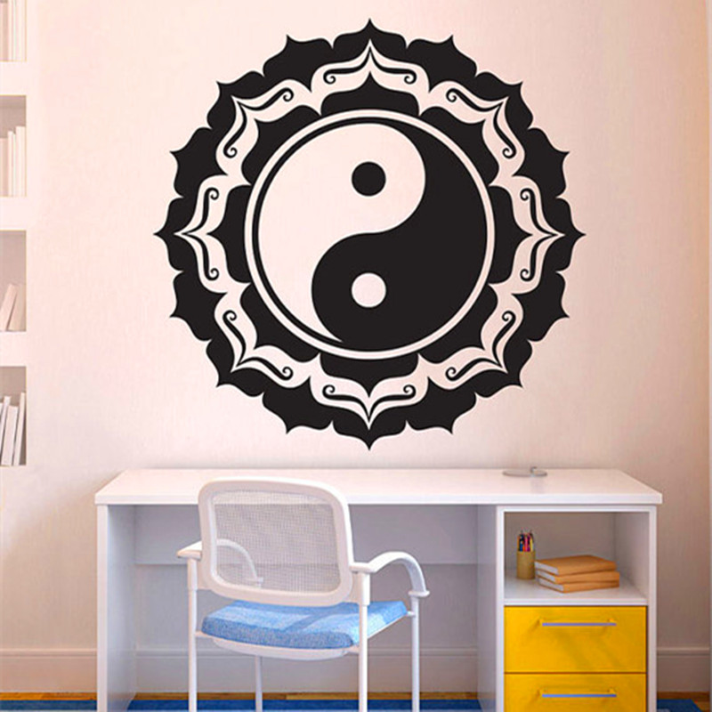 Popular yin and yang quotes buy cheap yin and yang quotes for Decoration murale yin yang