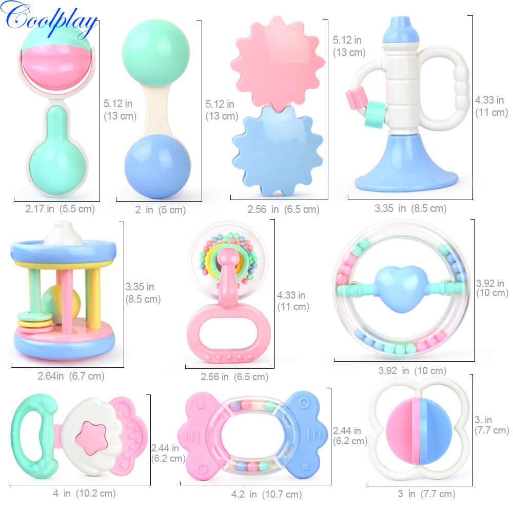 Детские игрушки рука держать Jingle встряхивания колокольчик Прекрасный Рука встряхнуть колокольчик детские погремушки игрушки Новорожденный ребенок 0-12 месяцев Прорезыватель игрушки