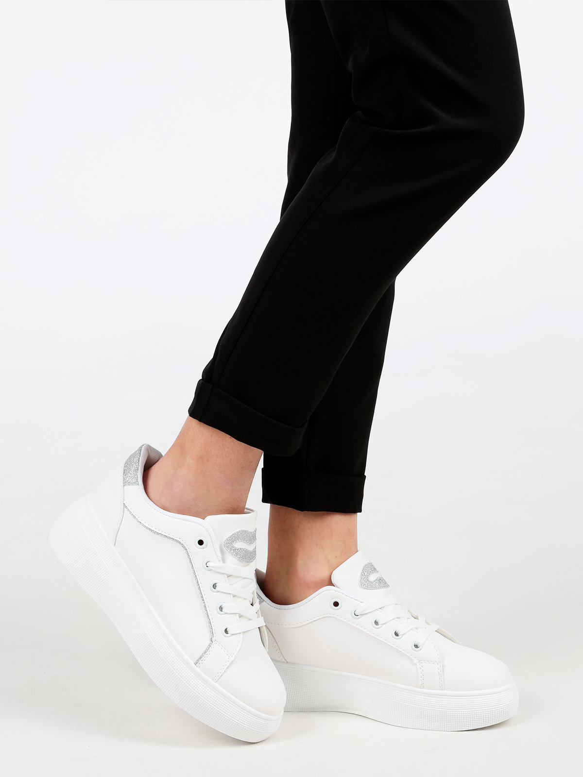Sneakers Soled High & Glitter