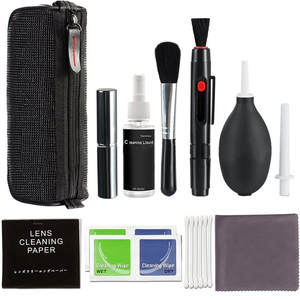 Camera Cleaning Kit/Spray Bottle Professional DSLR Lens Pen Brush Blower