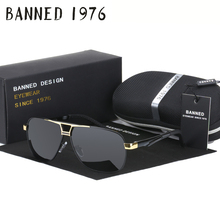 2017 real high quality men HD polarized metal Sunglasses fashion driving Sun Glasses for male eyewear Oculos with original box