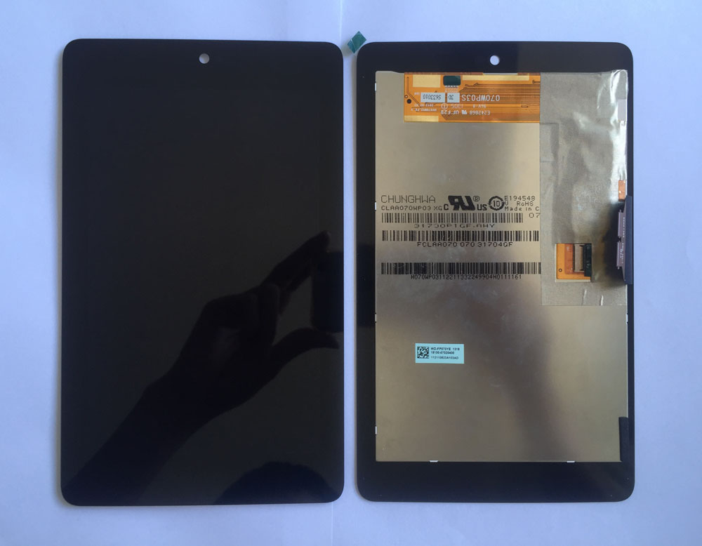 high quality Full new LCD display+Touch Digitizer Screen for ASUS Google Nexus 7 1st Gen nexus7 2012 ME370 ME370T  ME370TG high quality 4 95 for lg google nexus 5 d820 d821 full lcd display touch screen digitizer assembly complete with frame black