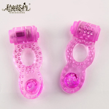 1 pcs Couples Sex Toys Pleasure Ring Penis Vibrating Cock Clit Stimulator Persistent Erection