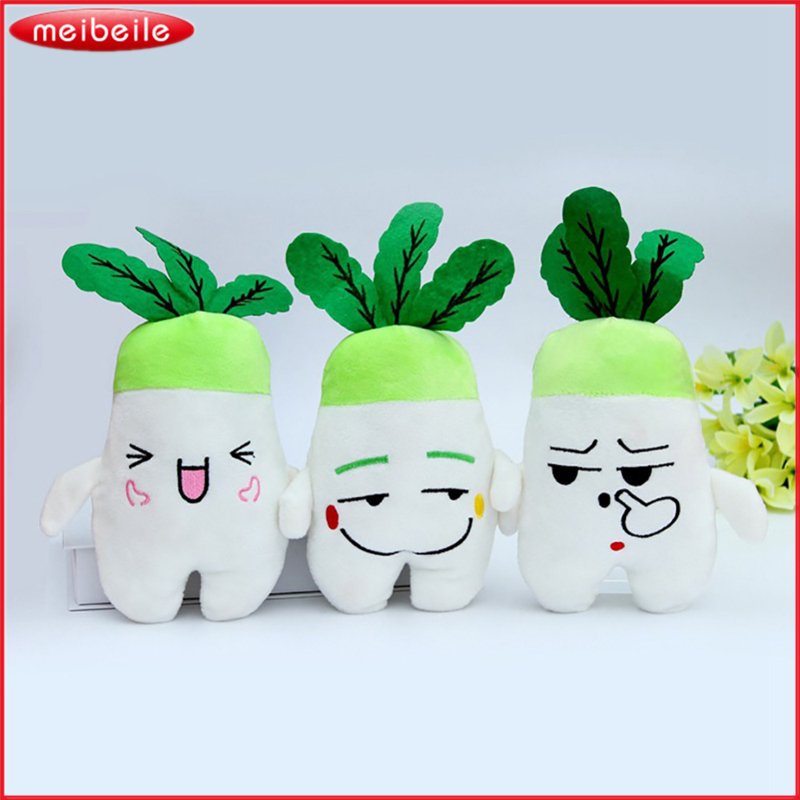 Emoj Plush Radish Doll Plush Toy Turnip Doll With Random Face Express 2pcs/LOT ...