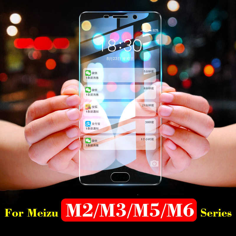 Protective glass on for meizu m5c screen protector meizy meisie m2 m3 m5 m6 note tremp meuzu m 6 5 c s m3s m6s not tempered glas