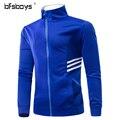 Men's Hoodie Fashion Casual white blue Hooded Jacket Mens Winter Sweatshirts Casual Zipper Jackets Men Sweatshirts Plus Size 3XL