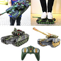Realistic Cool Tank Car Toy 1 Set Multicolor Cultivate Interest Decor Game