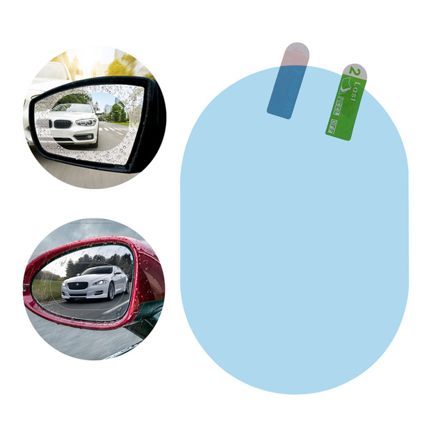 2pcs Car Anti Water Mist Film Anti Fog Rainproof Hydrophobic