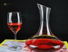 1 STÜCK Longming Hause 1500 ml Einzigartige Tumbler Glas Weinkaraffe Karaffe Wasser Krug Wein Container Dispenser Glas Karaffe JS 1100