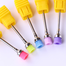 "Nail Drill Brush Bit Electric Machine Files 3/32"" Professional Cleaning Manicure Drills Accessories Nail Art Tools for Nail Gel"