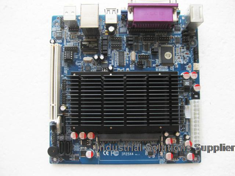 All Solid Atom d525 Mini-itx Industrial Motherboard 6com lvds ITX-M52X61D 100% tested perfect quality used original for onda h81ipc one machine mini itx mini industrial motherboard 12v msata lvds com usb3