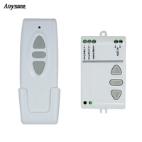 Dual Control AC 220V Intelligent Digital RF Wireless Remote Control Switch System For Projection Screen Smart