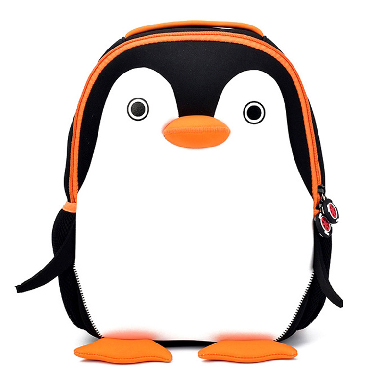 Little Penguin School Bags For Kids Children Cute Animals Design Boys Backpacks Multi Color Penguins Schoolbag Mochilas Escolare