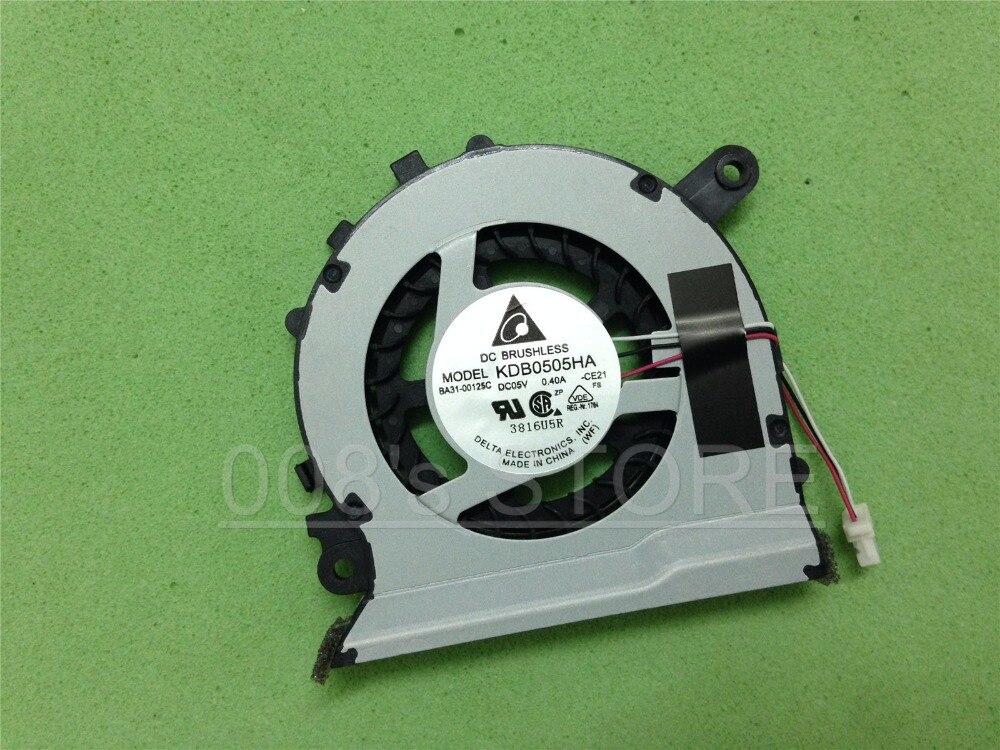 Novo ventilador do refrigerador da cpu do portátil para samsung np 530u3c 532u3c 530u3b 535u3c 540u3c np535u3c kdb0505ha ce21 dc 5 v 0.40a BA31-00125C